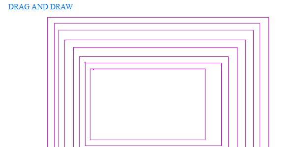 Draw rectangle with jquery