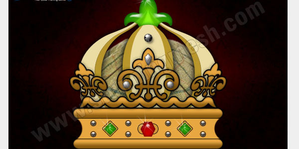 Precious Royal Crown in Photoshop