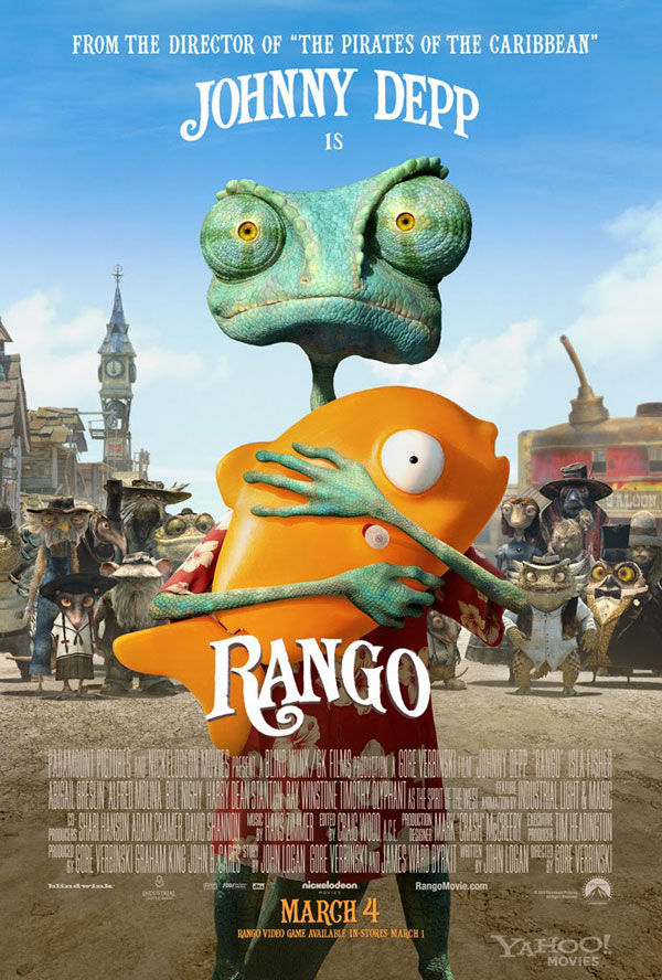 rango 30 Movie Posters Of 2011