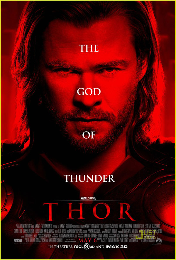 thor 30 Movie Posters Of 2011