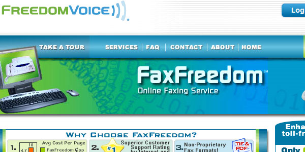 faxfreedom 25 Best Free Online Fax Services