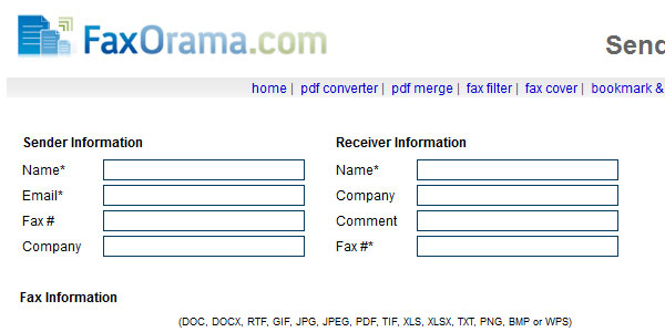 faxorama 25 Best Free Online Fax Services