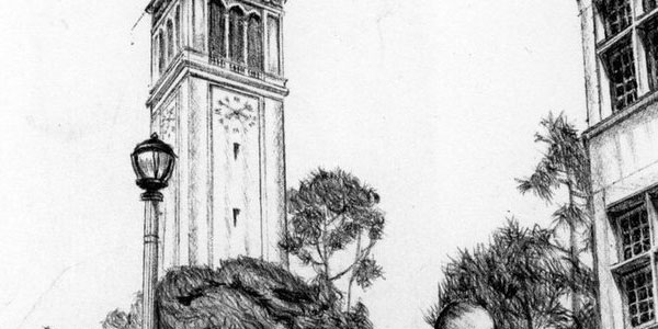 campanile 50 Splendid Pencil Drawings