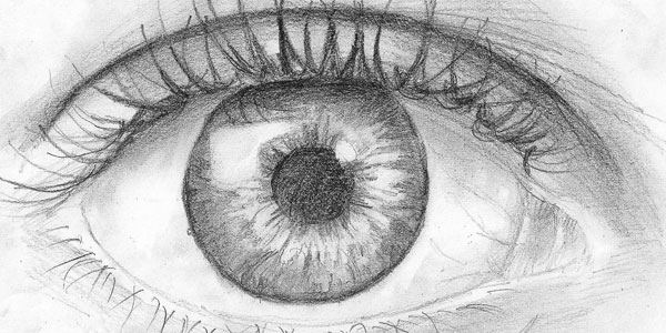 eye lash 50 Splendid Pencil Drawings