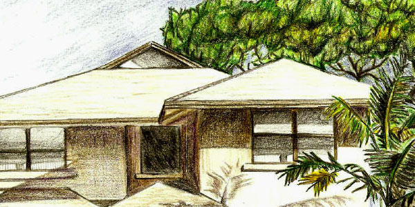 housing 50 Splendid Pencil Drawings