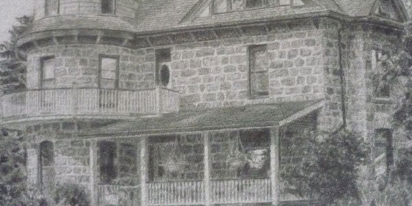 modern house 50 Splendid Pencil Drawings