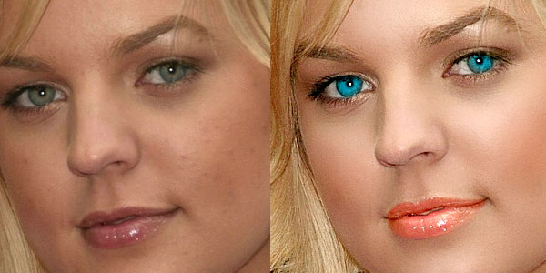 Enhance portrait photo with natural look