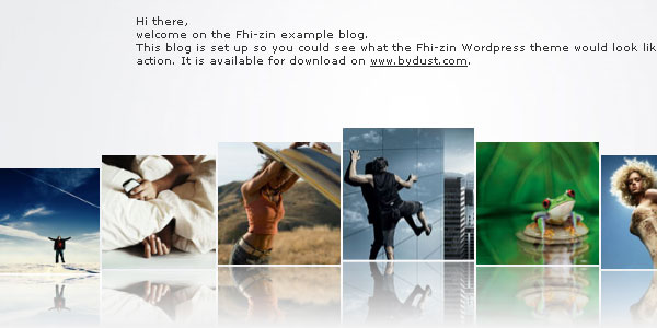 Thi-Zin WordPress Theme