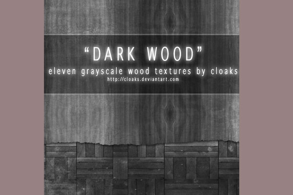 Dark Wood Texture Pack