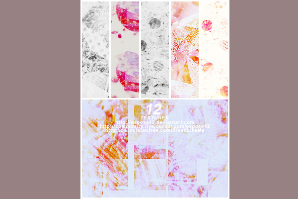 pinky vintage 105 Photoshop Textures For Designers