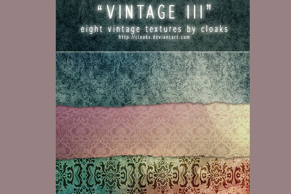 vintage pack 105 Photoshop Textures For Designers