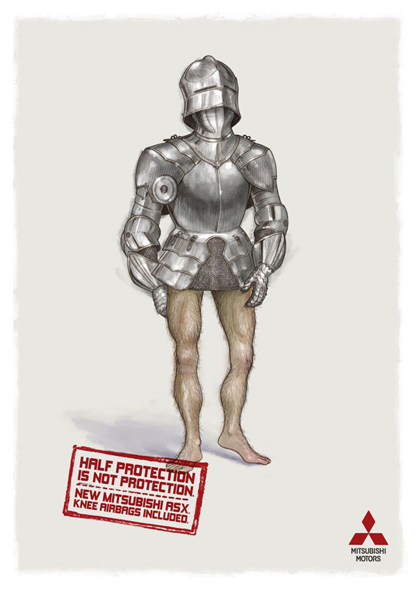 armor 35 Cool Print Advertisements