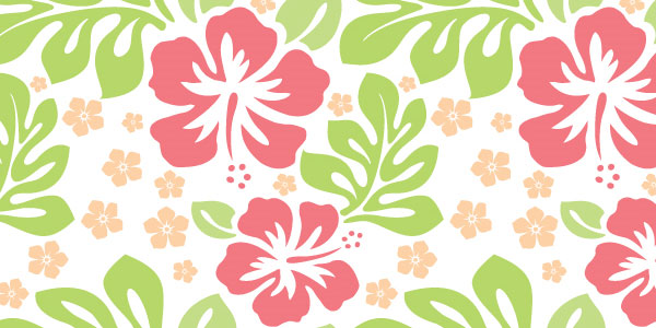 aloha seamless pattern 50 Cool White Backgrounds For Your Site