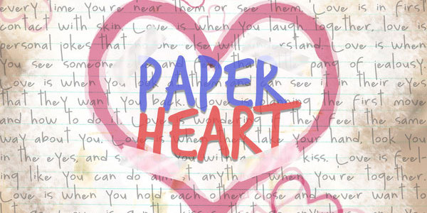 paper heart 50 Cool White Backgrounds For Your Site