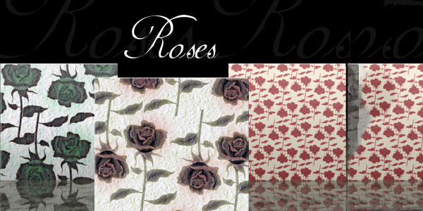Roses Seamless Patterns