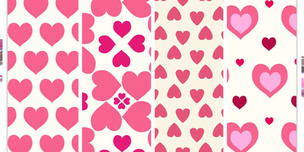 sweetheart pattern 50 Cool White Backgrounds For Your Site