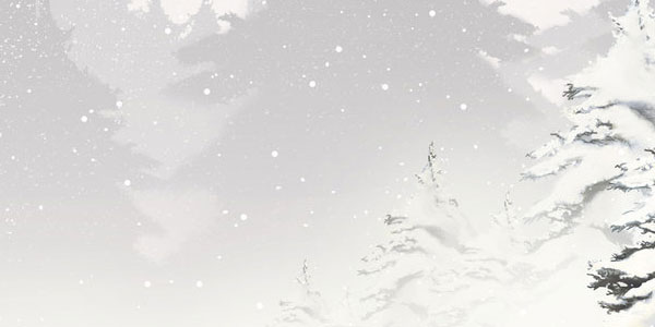 Xmas Wallpaper 08 - White