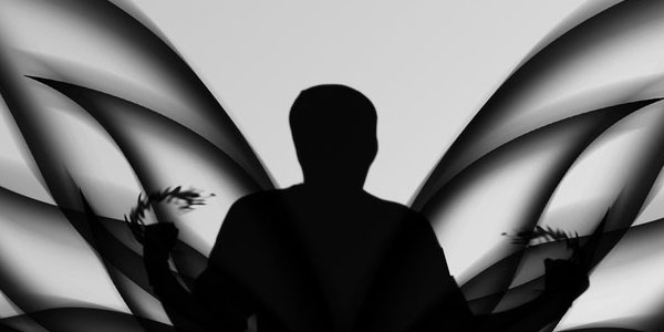 butterfly man 70 Useful Black And White Backgrounds