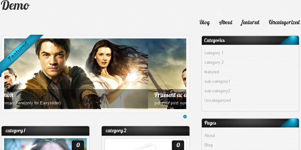 amphion 20 Free WordPress 3.0 Themes