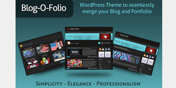 blog o folio 20 Free WordPress 3.0 Themes