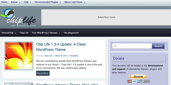 chip 20 Free WordPress 3.0 Themes