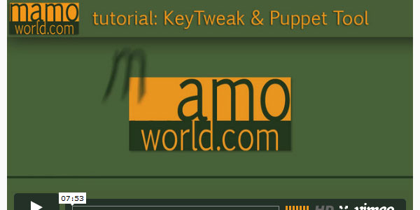 keytweak after effects 60 Awesome After Effects Tutorials