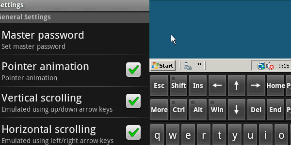 Remote Desktop Client for Android
