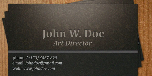 Business Card VII