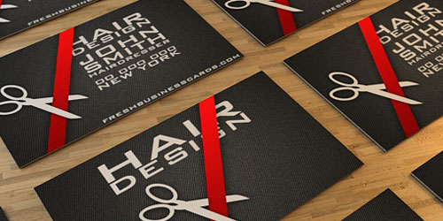 Free business card templates 40 collections slodive business card for hairdresser cheaphphosting Image collections
