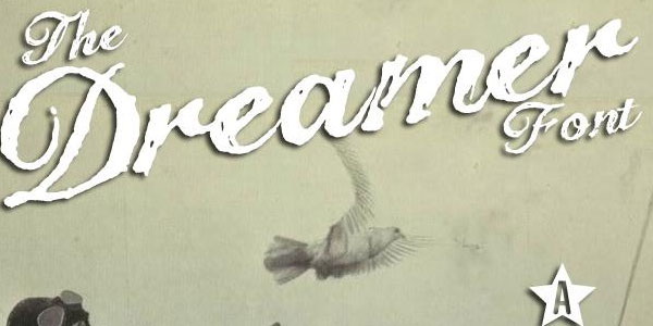 the dreamer 50 Free Cool Fonts You Could Use