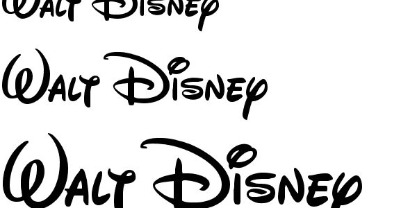 walt disney font 50 Free Cool Fonts You Could Use