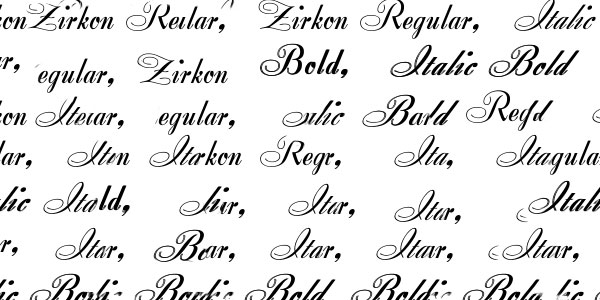 Cool Fonts Of All Times