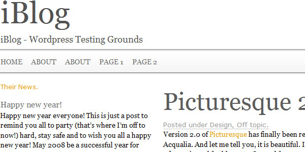 25 helpful css grid frameworks build a newspaper theme with wpquery and the 960 css framework malvernweather Images