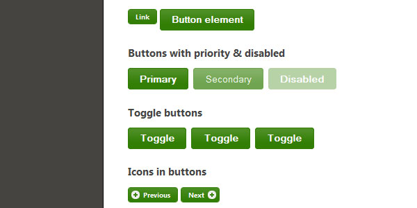 25 helpful css grid frameworks styling buttons and toolbars with the jquery ui css framework malvernweather Choice Image