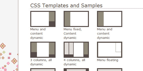templates 20 Super Techniques For CSS Page Layouts