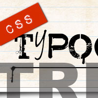 30 Useful CSS Typography Tricks