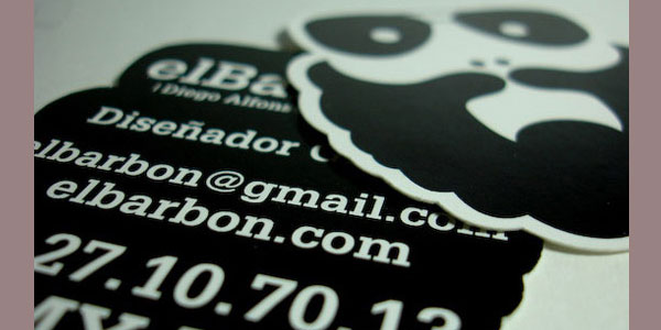 beard card 30 Killer Die Cut Business Cards