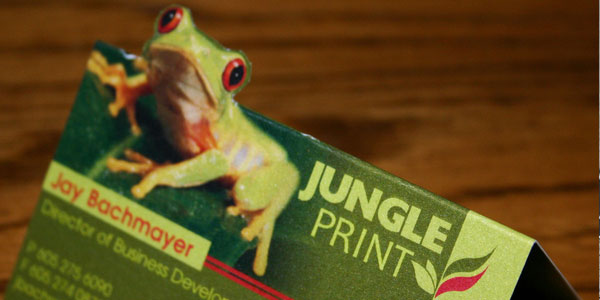 jungle card 30 Killer Die Cut Business Cards