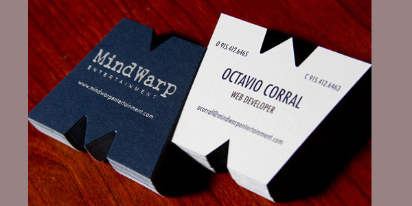 mindwrap 30 Killer Die Cut Business Cards