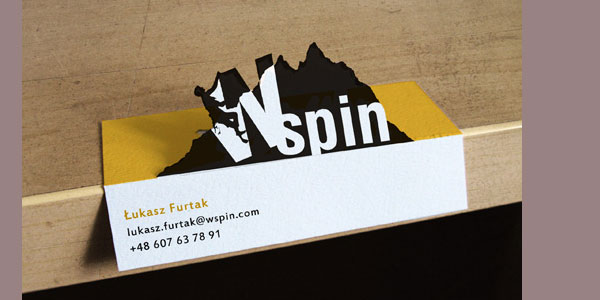 spin 30 Killer Die Cut Business Cards