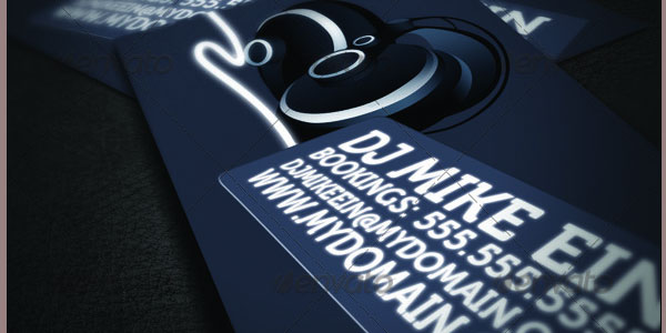 25 dj business cards dj business card collection super style dj business cards reheart Images
