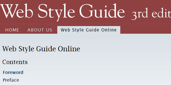 web style guide 10 Free Ebooks Every Web Developer Should Have