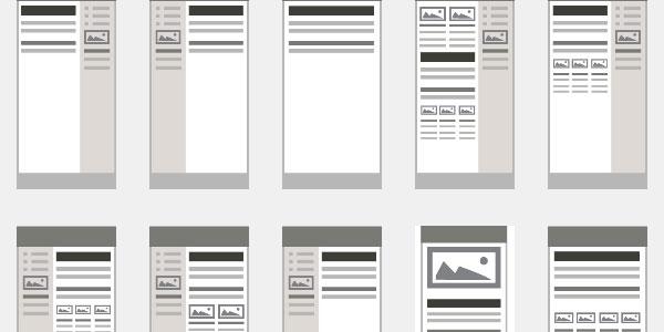 e newsletter templates free