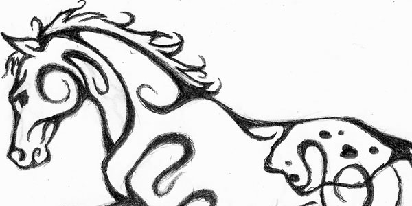 Appaloosa Tattoo Design
