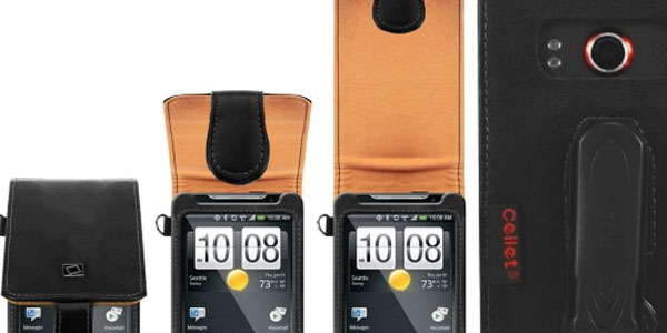 HTC EVO 4G Executive Leather Phone Case
