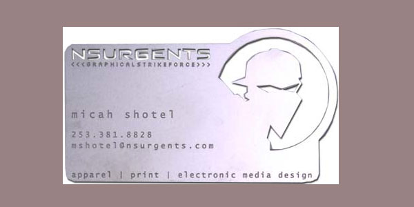 Medal Business Card
