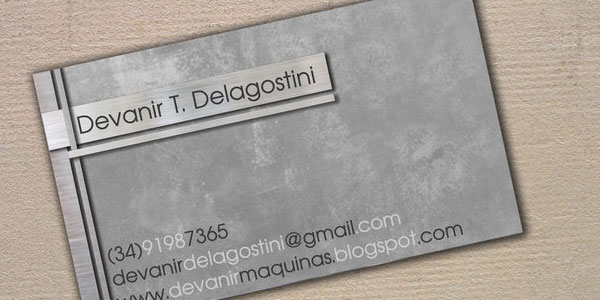 metal business cards 30 Great Looking Metal Business Cards