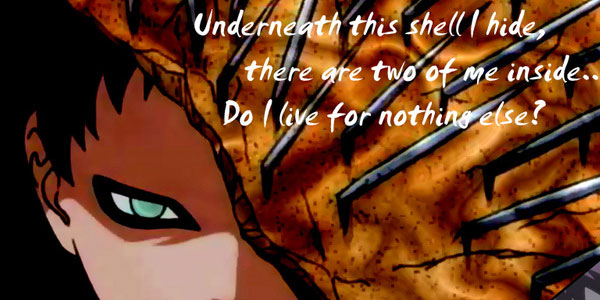 Gaara Underneath The Shell