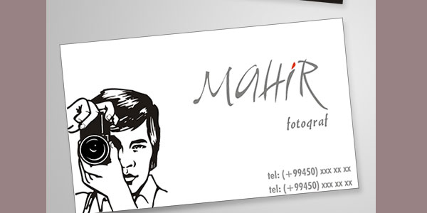 Business Card Photo