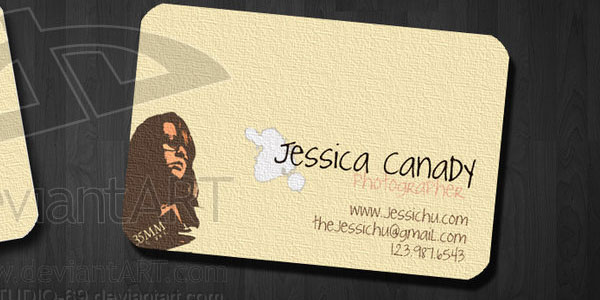 trendy card 30 Beautiful Photography Business Cards